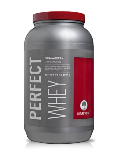 ISOPURE-Nature's Perfect Whey Strawberry 2 Libras
