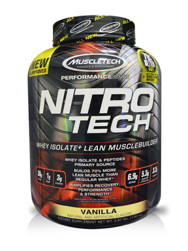 MUSCLETECH-Performance Series Nitro Tech Milk Vainilla 3.97 libras